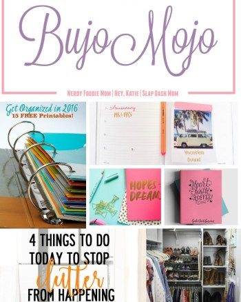 Bujo Mojo Week 3