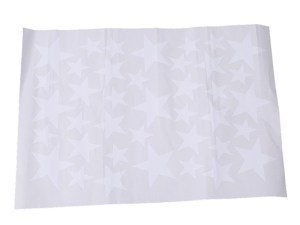 Stickers muraux étoiles blanches - déco chambre enfant bébé