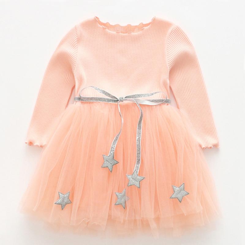 7c939040d3121 Robe de célébration pour fille - Robe élégante rose mi-longue ...