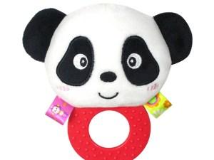 Hochet Panda mignon anneau de dentition bébé