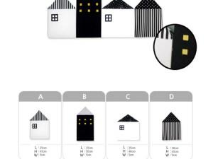 Dimensions Tour de lit bébé maisons scandinaves