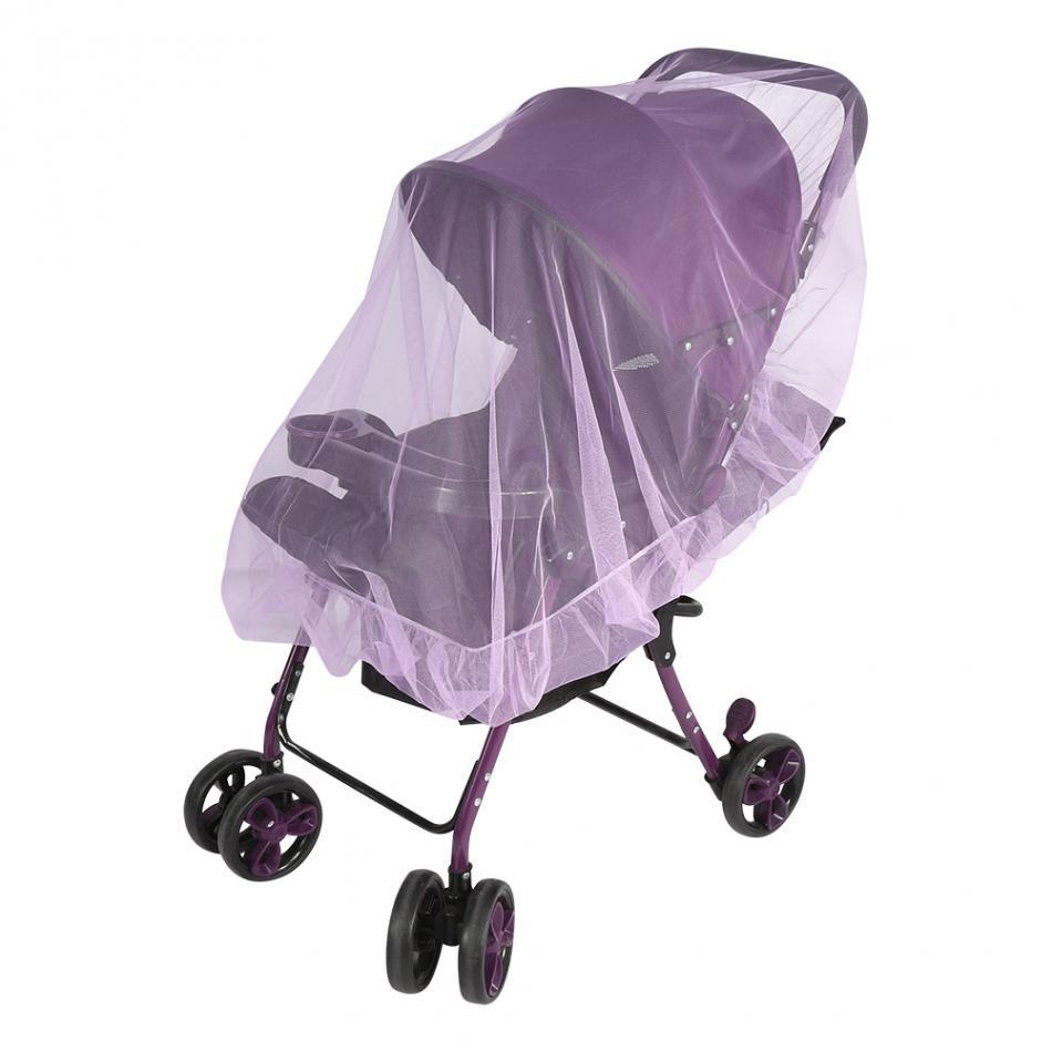 Moustiquaire poussette bébé - couleur mauve