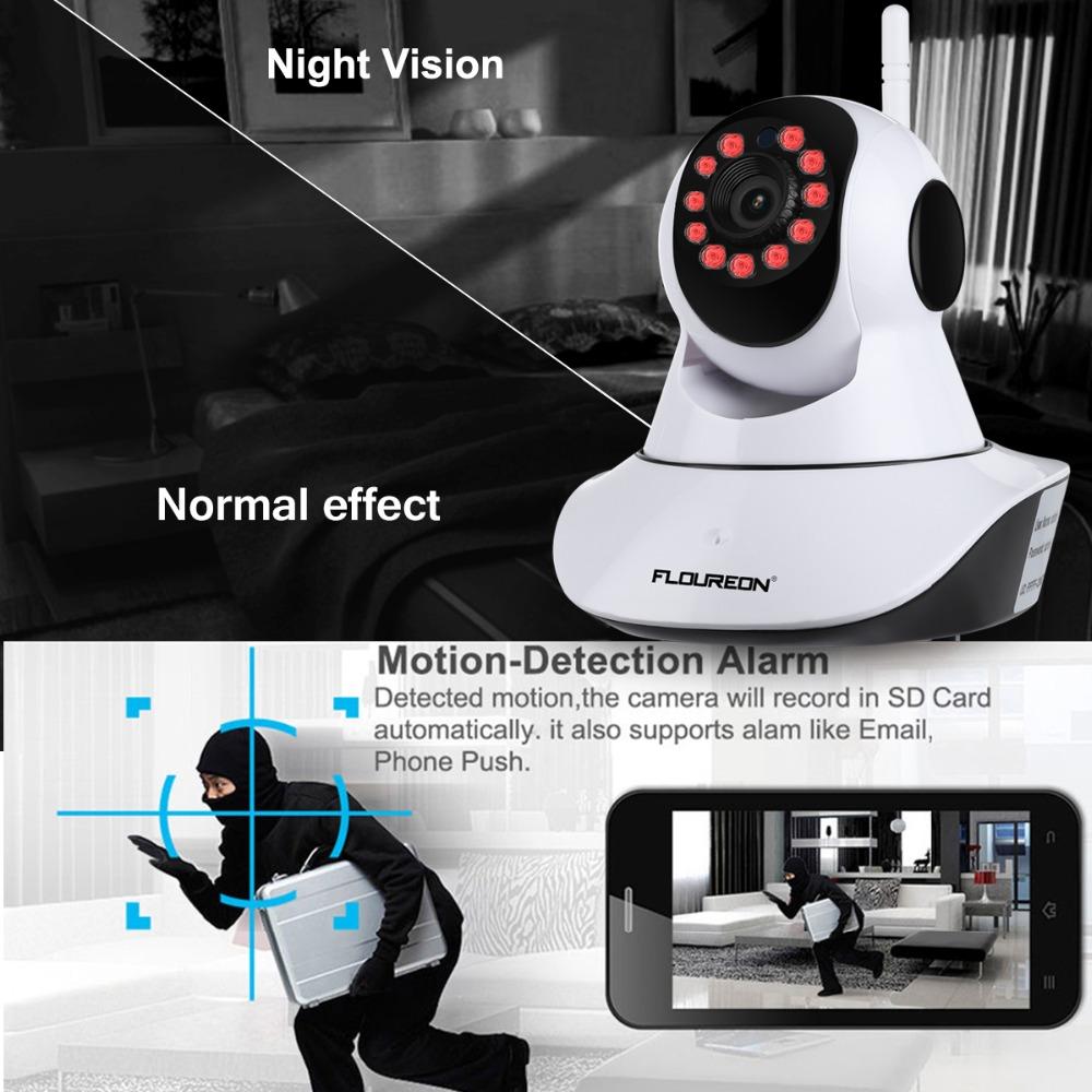 Caméra sans fil pour surveiller bébé la nuit (détection de mouvements la nuit)