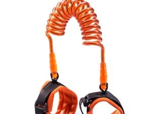Laisse pour enfant couleur orange, laisse de sécurité pour garder l'enfant près de soi
