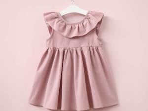 Robe LOLITA sans manches rose