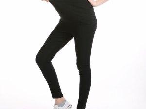 Legging noir stretch grossesse