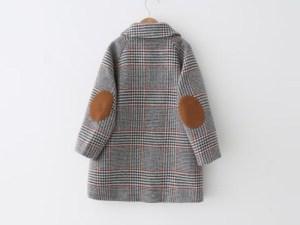 Dos du manteau fille