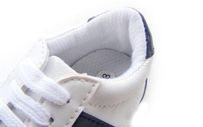 Intérieur Baskets blanches pour bébé