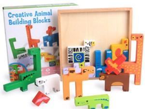 Boîte de jouets en bois pour enfants