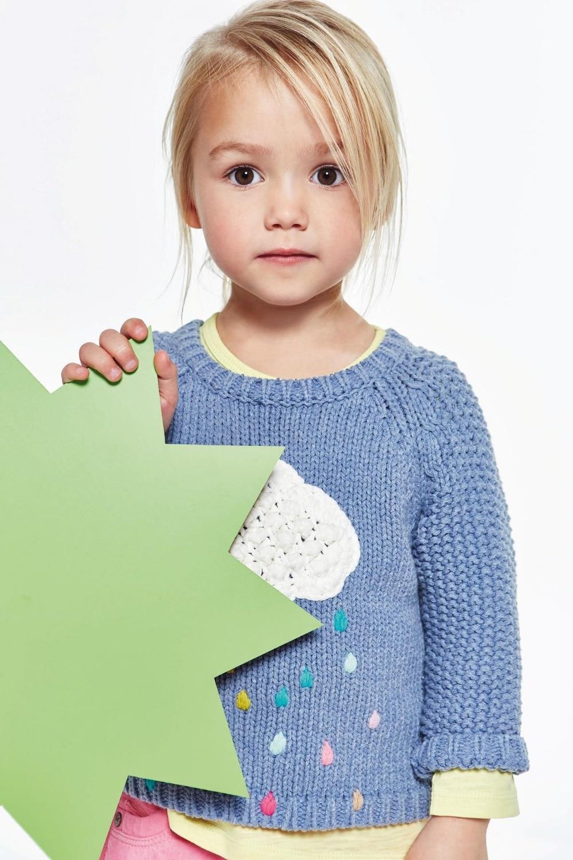 Pull en laine hiver pour fille 2 ans, 3 ans, 4 ans, 5ans