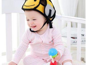 Casque de sécurité pour bébé - Casque modèle abeille