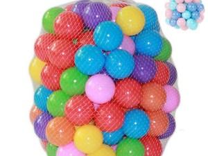 Lot de 100 boules multicolores pour les enfants
