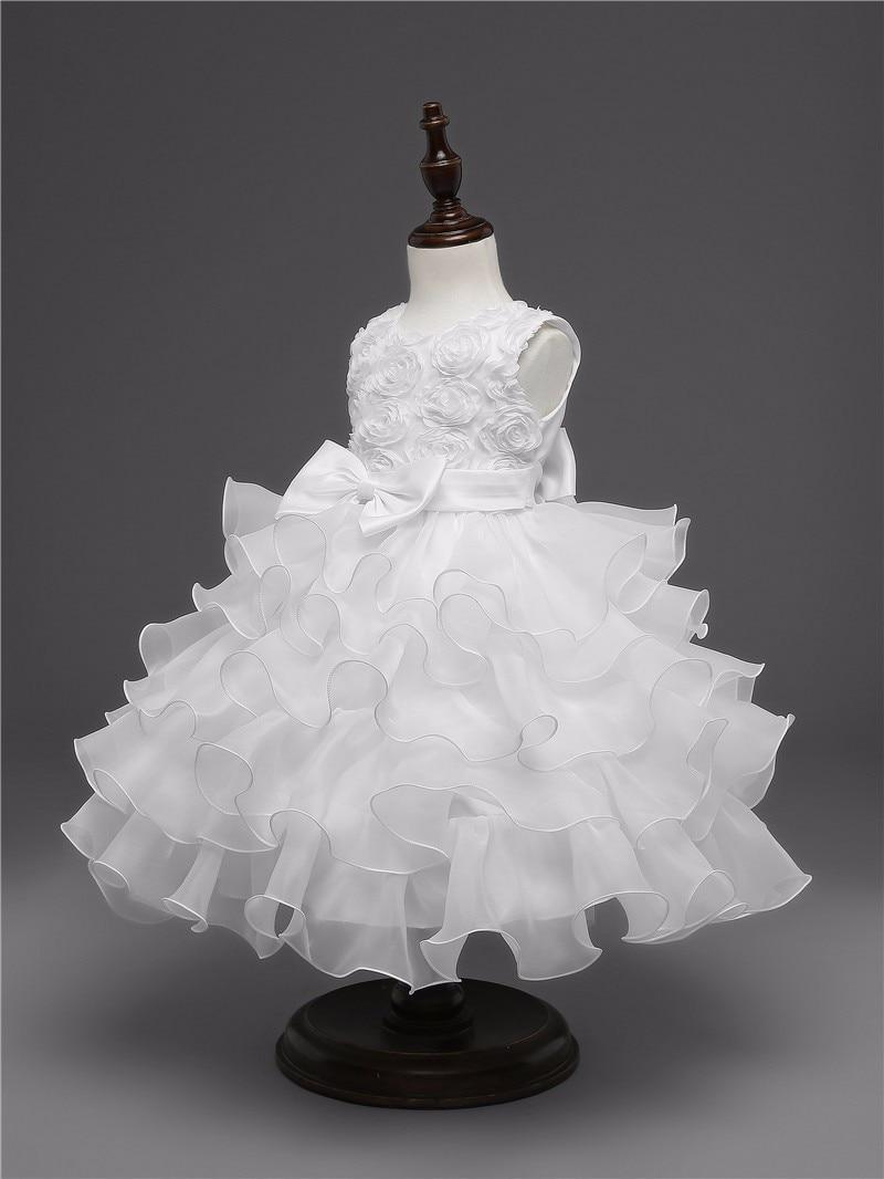 Robe de cérémonie blanche pour fille