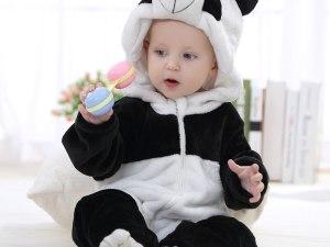 Déguisement de bébé en Panda