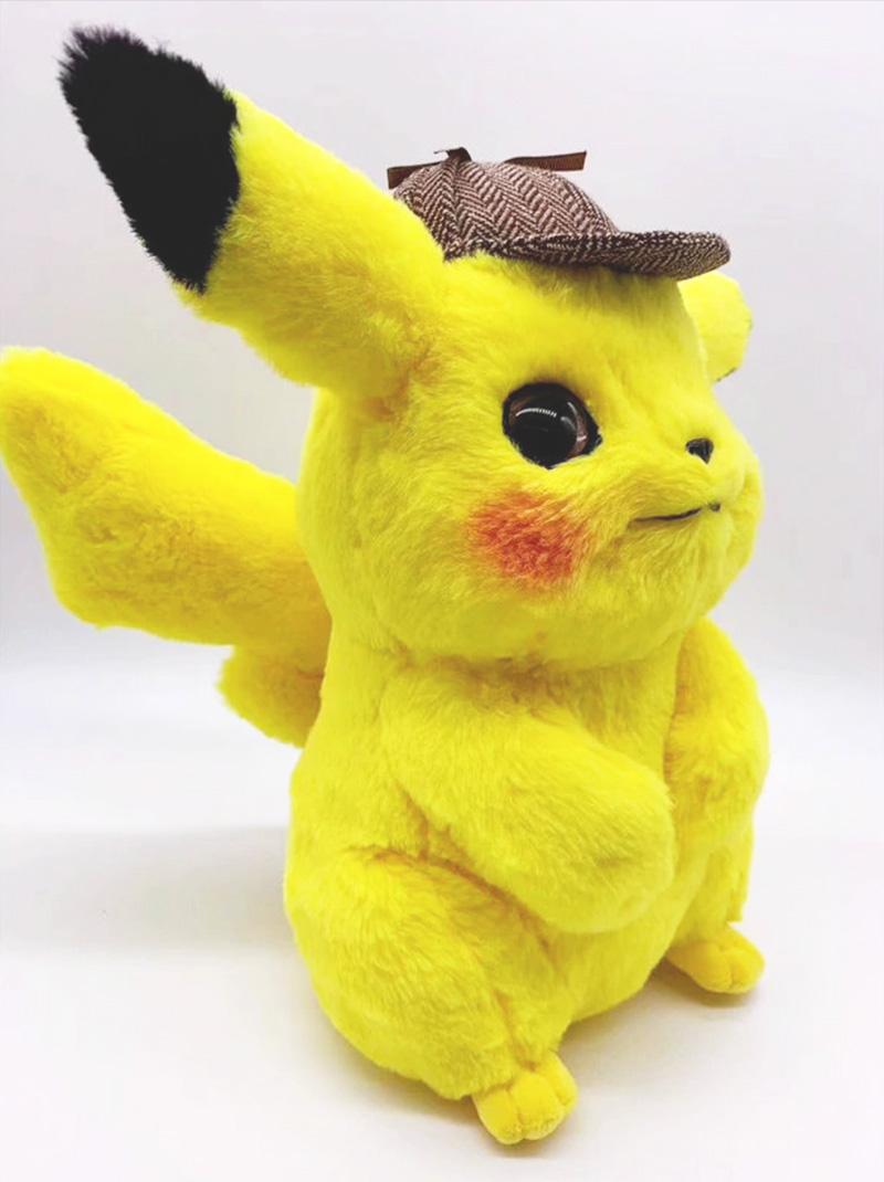 Peluche Pikachu Détective