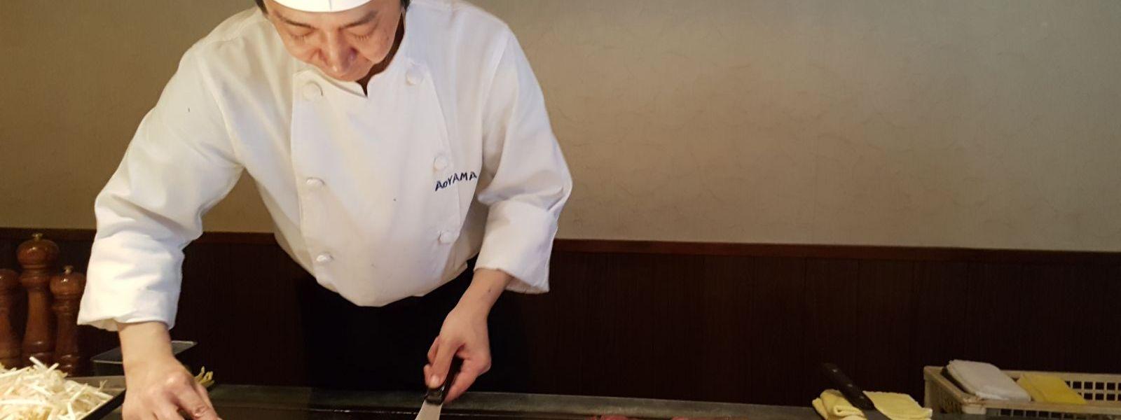 Eating Beef in Kobe
