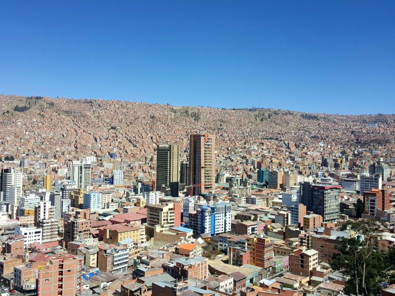 La Paz – One of the Highest Cities in the World