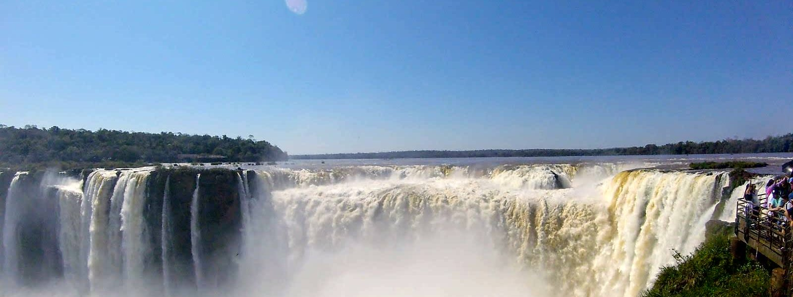 Iguazu Falls: the world's largest waterfalls