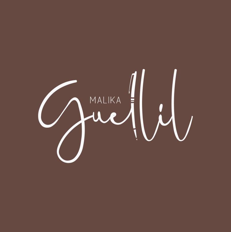 Création logo pour Malika Guellil, biographe