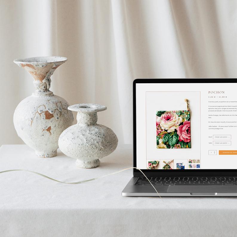 Création site internet pour la Bobine d'Emilie
