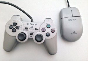 PSX Dual Analog Controller and Official mouse