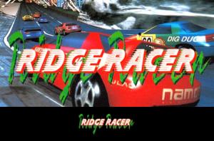 Ridge Racer Label