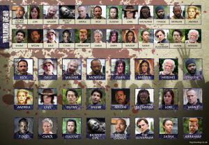 Guess Who? Extra The Walking Dead-Blue