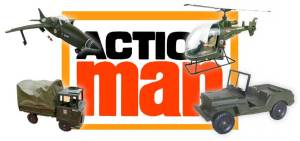 Action Man Vehicles