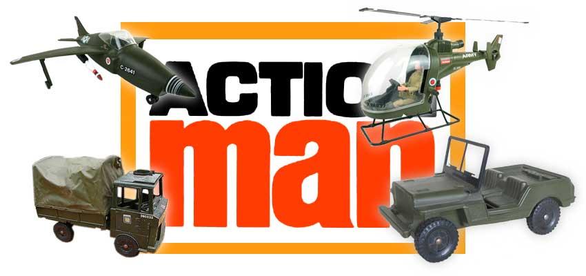 Action Man Vehicles