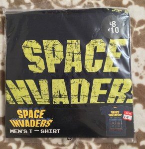 Space Invaders 80 T-Shirt (Packaged)