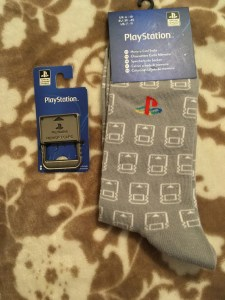Playstation Memory Card Socks & Bottle Opener