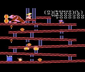 Atari 7800 Donkey Kong (2)