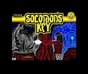 Solomon's Key Loading Screen