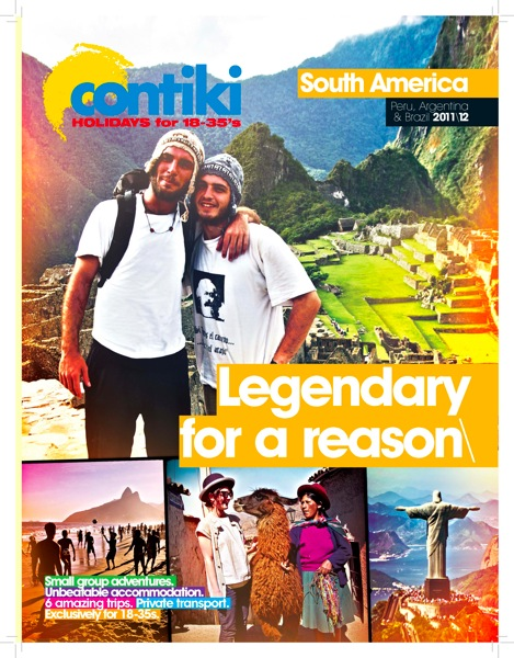 Contiki South America Cover