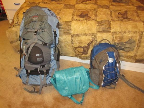What I packed for 3 months