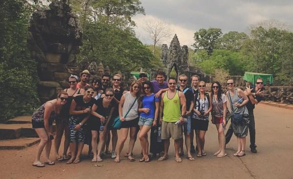 Contiki Big Indochina Adventure- Group size