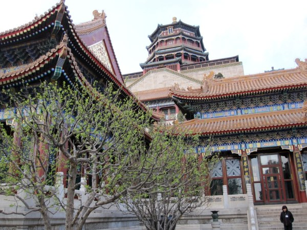 Summer Palace View from Courtyard