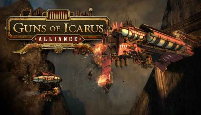 Картинки по запросу guns of icarus alliance