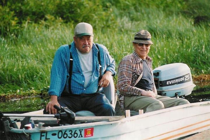 John Cullum and Barry Corbin in the film 'Blackwater Elegy'