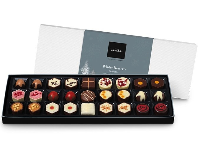 HeyRashmi gift guide- Winter Desserts Sleekster by Hotel Chocolat