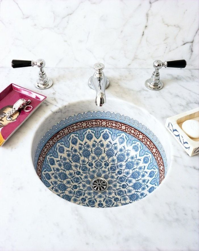 HeyRashmi home decor ideas - decorative Moroccan sink