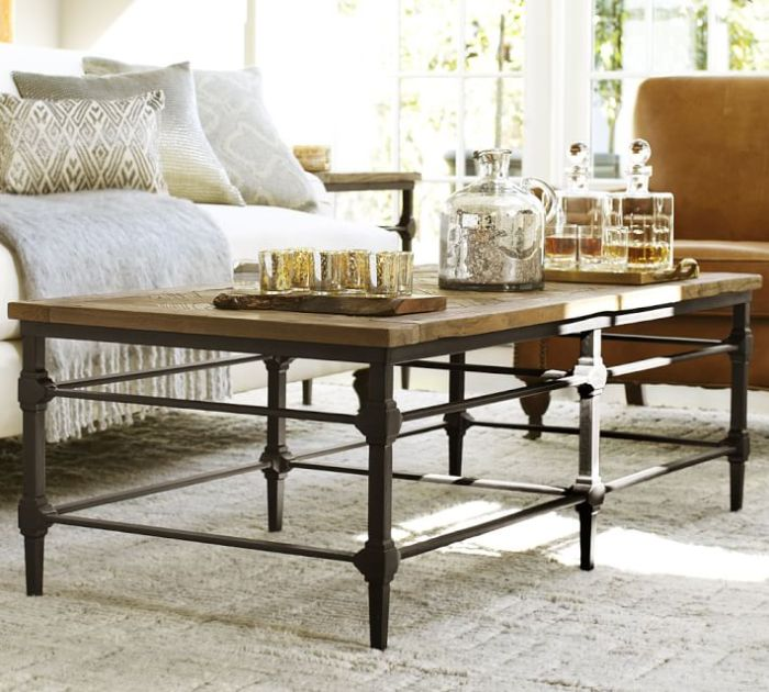 HeyRashmi home decor ideas - reclaimed wood coffee table