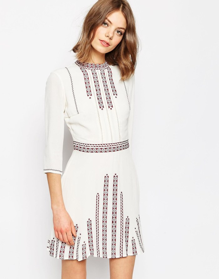 HeyRashmi Spring Dress Edit - Asos Premium Folk Mini dress