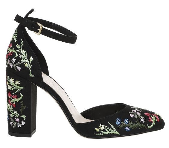 HeyRashmi spring heels - Office Hyacinth Mary Janes