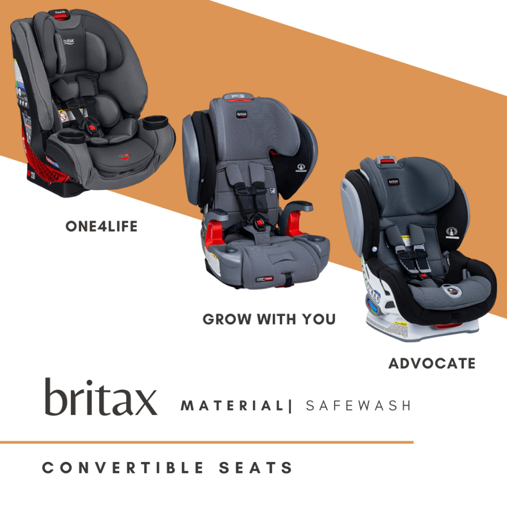 Britax Advocate ClickTight Convertible Car Seat   3 Layer Impact Protection - Rear & Forward Facing - 5 to 65 Pounds, SafeWash Fabric, Otto