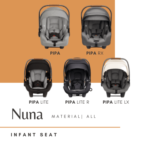 nontoxic car seat nuna infant