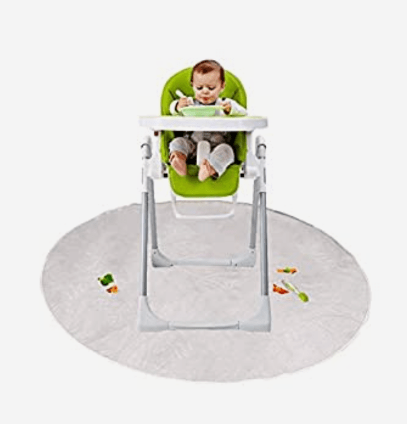 baby lead weaning high chair mat