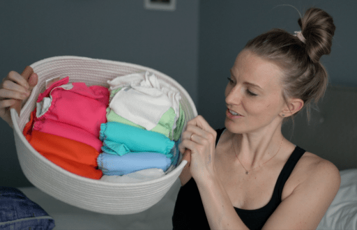 cloth diapers storage