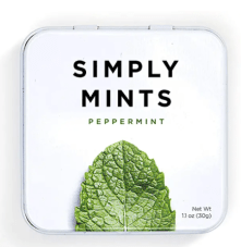 first trimester peppermint mints for nausea
