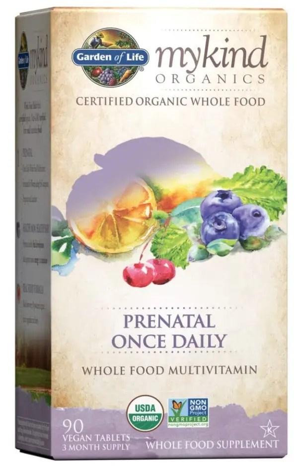 first trimester prenatal vitamins